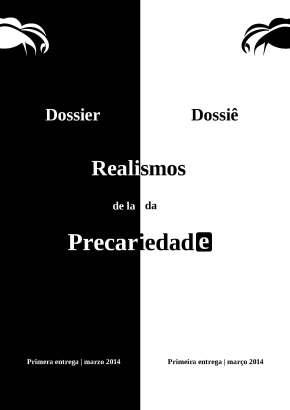 Realismos da Precariedade | Realismos de laPrecariedad