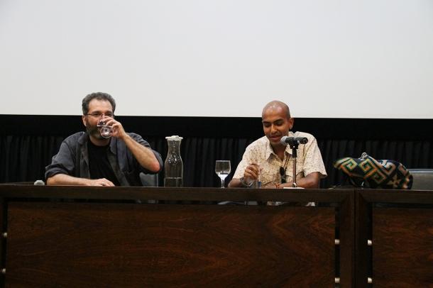 Sebastian Wiedemann Palestra/Bate-papo Cine UFG