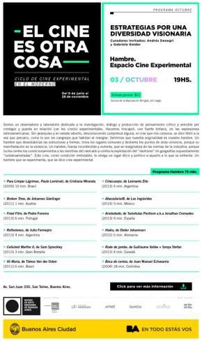 Hambre en Museo de Arte Moderno de Buenos Aires(MAMBA)