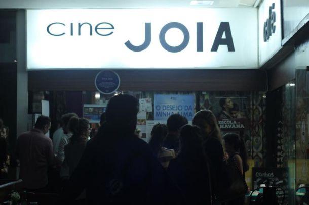 DOBRA ocupando o CineJoia