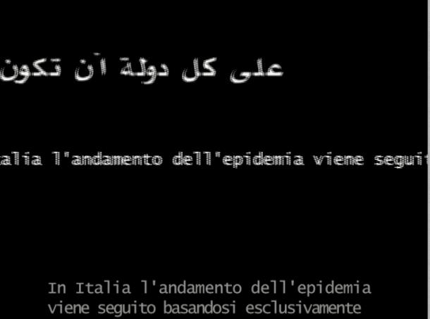 Tu, Sempre texte arabe et italien - copie