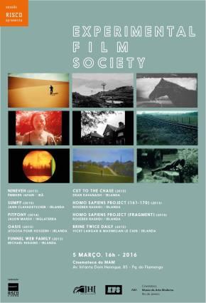 Hambre apresenta Experimental Film Society – Cinemateca MAM Rio deJaneiro