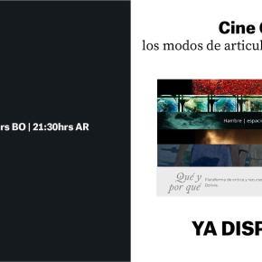Cine Grafía: los modos de articular y revelar laimagen
