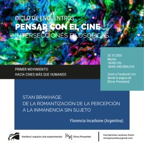 Pensar con el cine | Hacia cines más que humanos | FlorenciaIncarbone