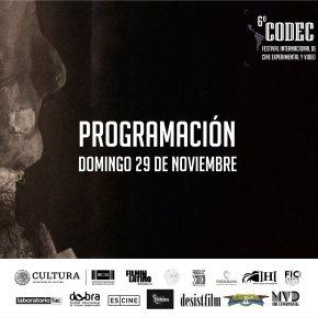 Hambre en CODEC/Festival Internacional de Cine Experimental y Vídeo,Mexico