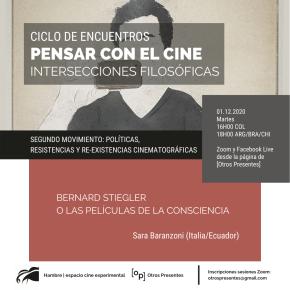 Pensar con el cine | Políticas, resistencias y re-existencias cinematográficas | SaraBaranzoni