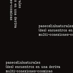 paseos[in]naturales | (des) encuentros en una deriva | multi-conexiones-cosmicas
